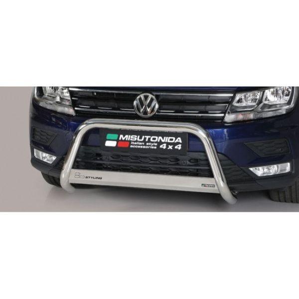 Misutonida Bull Bar Ø63mm inox srebrni za Volkswagen Tiguan 2016 s EU certifikatom