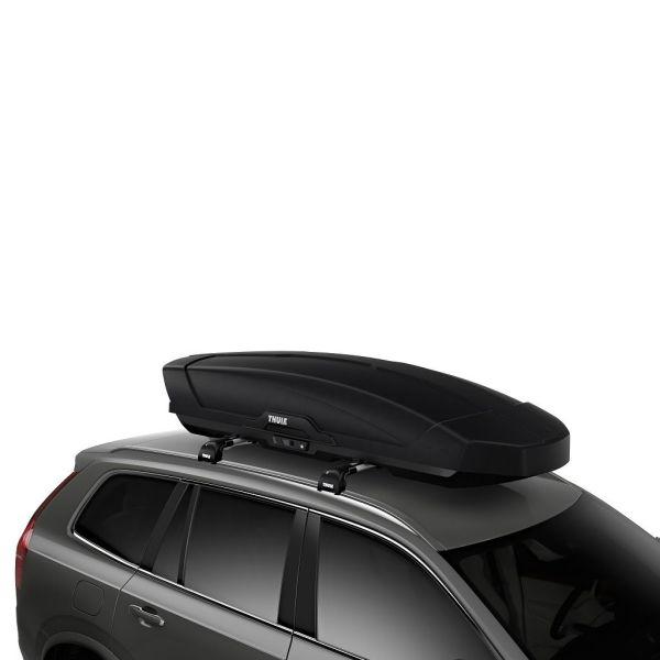 Thule Motion XT XL (800) crna mat krovna kutija limited ed. + pokrov poklopca gratis