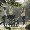 Thule Urban Glide 2 Double crna dječja kolica za dva djeteta