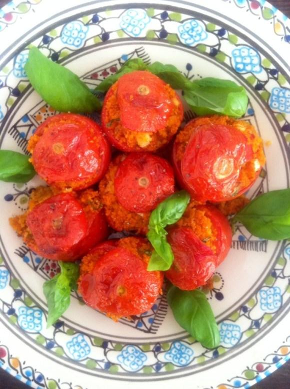 Tomaten met couscous