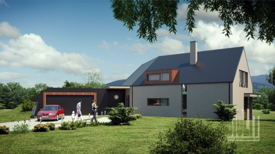 Family house, Bystrice / / Client: atelier BMCH