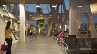 Rail and bus station, Havirov / / Client: Atelier KOHLarchitekti