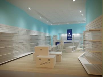 Fashion shop, Ostrava / / Client: Petrosi group, s.r.o. © Barracasa