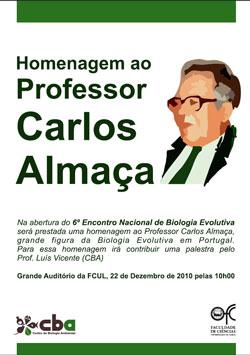 Sessão de Homenagem a Carlos Almaça