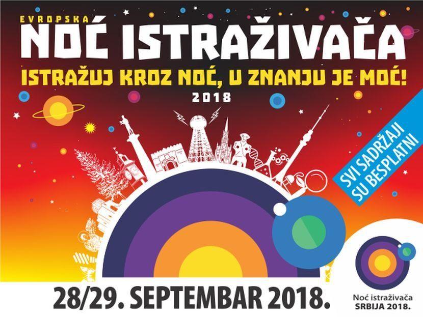 Европска Ноћ истраживача у Србији – Истражуј кроз ноћ, у знању је моћ