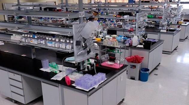 """Laboratório, o """"escritório"""" do biólogo"""