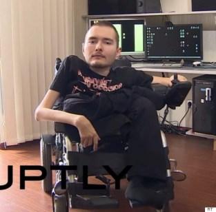 O russo Valery Spiridonov: síndrome de Werdnig-Hoffmann.
