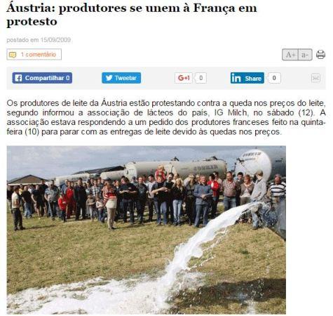 Fonte: https://www.milkpoint.com.br/cadeia-do-leite/giro-lacteo/austria-produtores-se-unem-a-franca-em-protesto-56963n.aspx