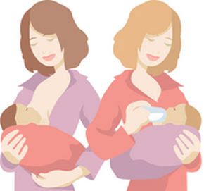 Image result for breast vs bottle image