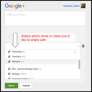 select-your-circle-to-share-with