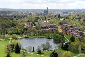 Vale village view from Chamberlain tower