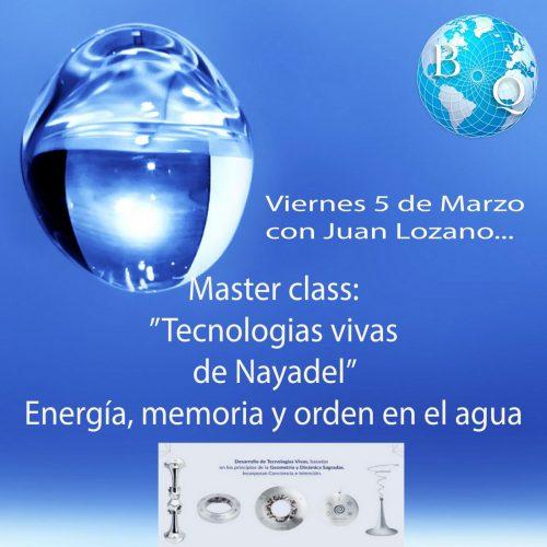 Master class Juan Lozano
