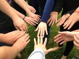 Our Hands After Red Rover