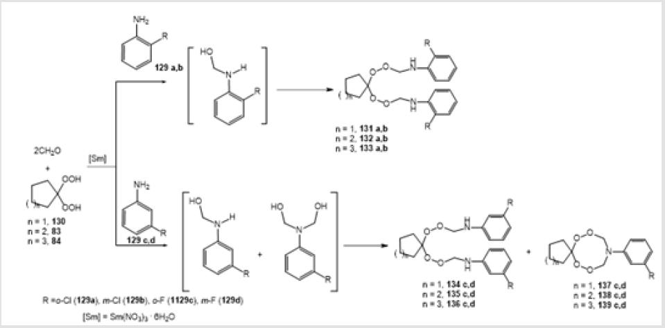 Cyclic and Acyclic Azaperoxides