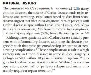 UPennCrohn'sStatistics, Management of Active Crohn's Disease