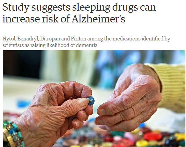 Alzheimer's, dementia, common medications increase risk