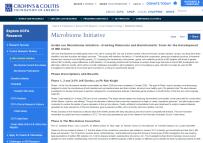 Microbiome Initiative