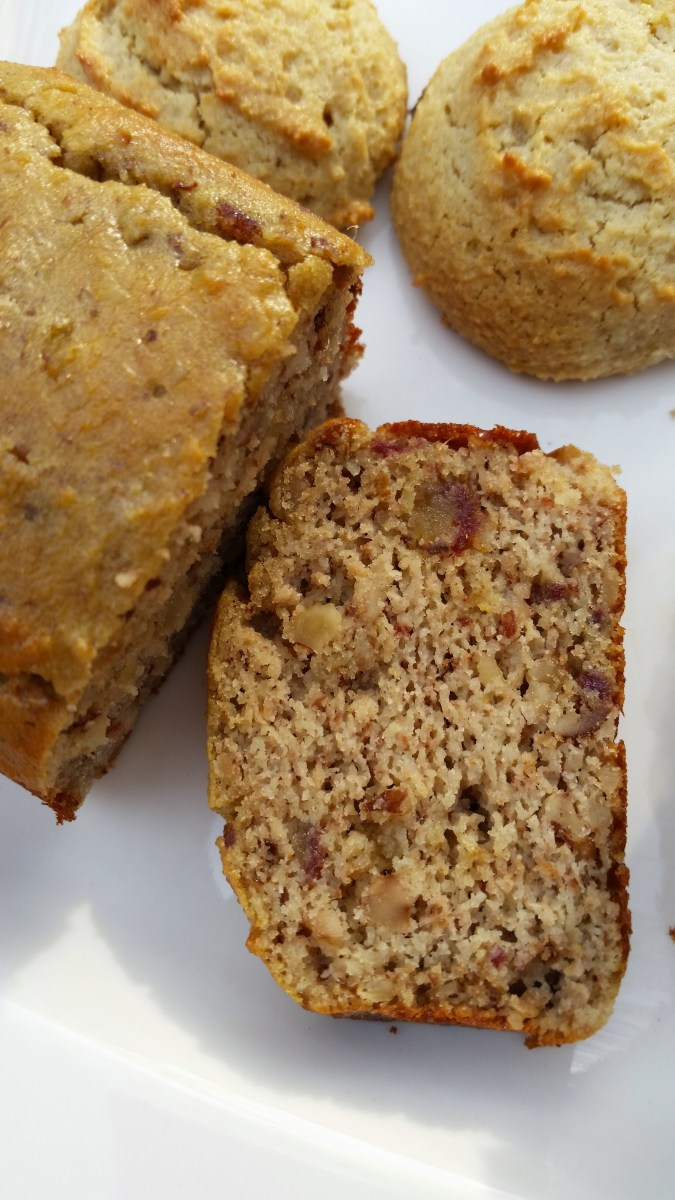 Date Nut Bread, PALEO SCD GAPS