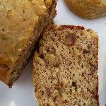 Date Nut Bread; PALEO/SCD/GAPS