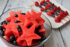 4th of July fruit
