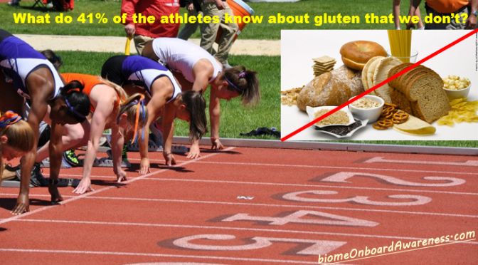 Learn from the athletes why reduce, eliminate gluten