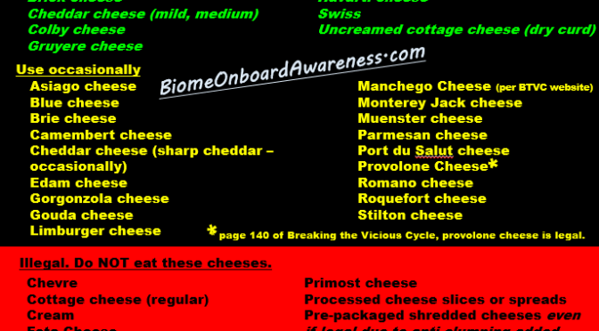 Get SCD Cheese Right. It is Loaded with Nutrients & Bacteria!