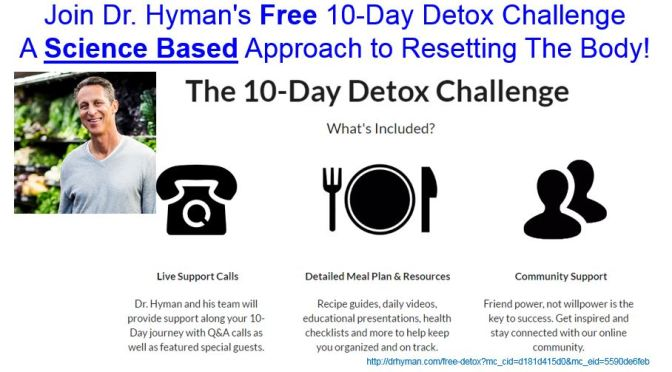 Join Dr. Mark Hyman Free 10 Day Detox Challenge