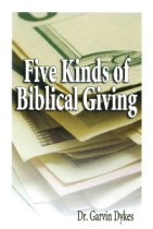 Book cover, Five Kinds of Biblical Giving