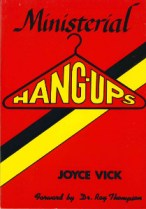 Book cover, Ministerial Hangups