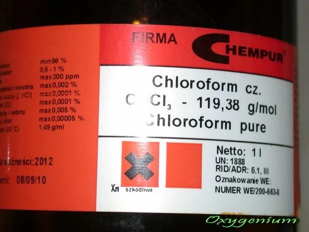 chloroform e