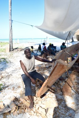 Dhow builders