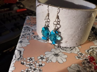 Extra earrings given to Nat