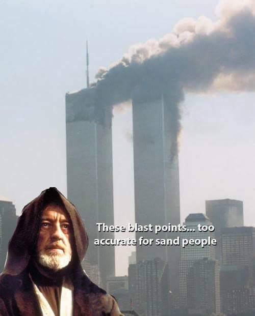 These blast points are too accurate for Sand People.