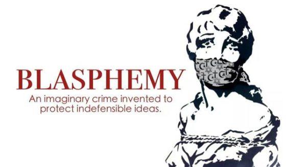 Blasphemy is an imaginary crime-bionichead