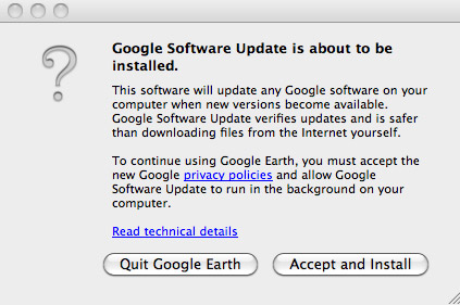Google Update Opt-In