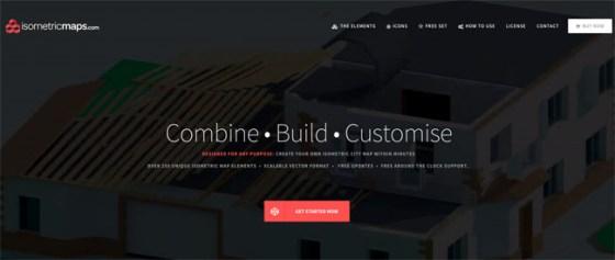 Isometric Maps Website