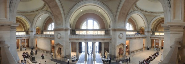 NYC Metropolitan Museum of Art Interior