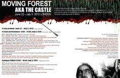 2012 - Moving Forest Festival, London