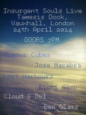2014 Insurgent Souls Boat Party London
