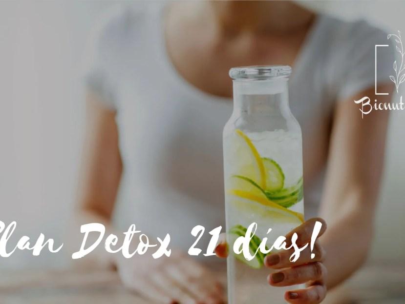 Plan Detox 21 días- Bionutrición Ortomolecular