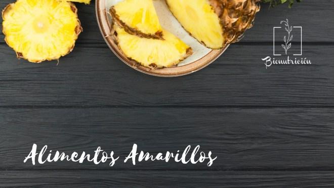 Propiedades de los alimentos amarillos-Cromonutrición: los beneficios de los alimentos según sus colores