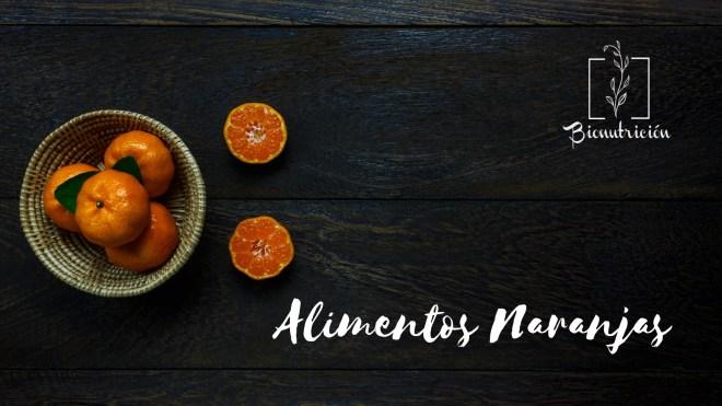 Propiedades de los alimentos naranjas-Cromonutrición: los beneficios de los alimentos según sus colores