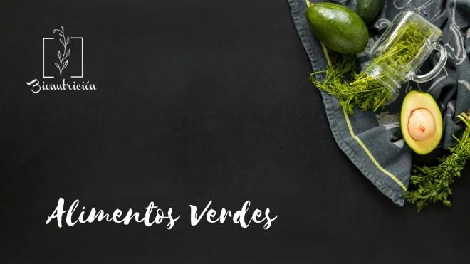 Propiedades de los alimentos verdes-Cromonutrición: los beneficios de los alimentos según sus colores- Bionutrición Ortomolecular