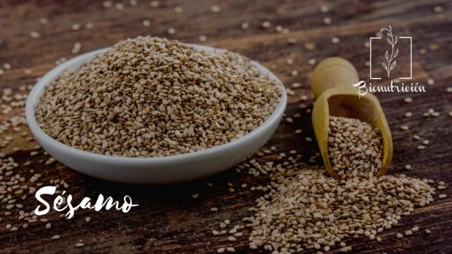 Propiedades de las semillas de sésamo