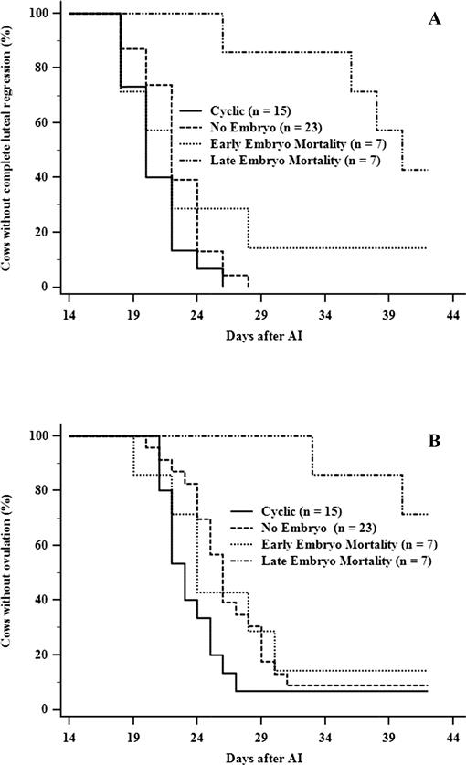 Embryo Mortality Around the Period of Maintenance of the