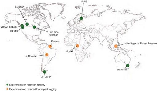 Retention Forestry to Maintain Multifunctional Forests: A