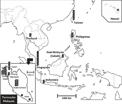 Genetic Analysis of Population Structure of Coptotermes