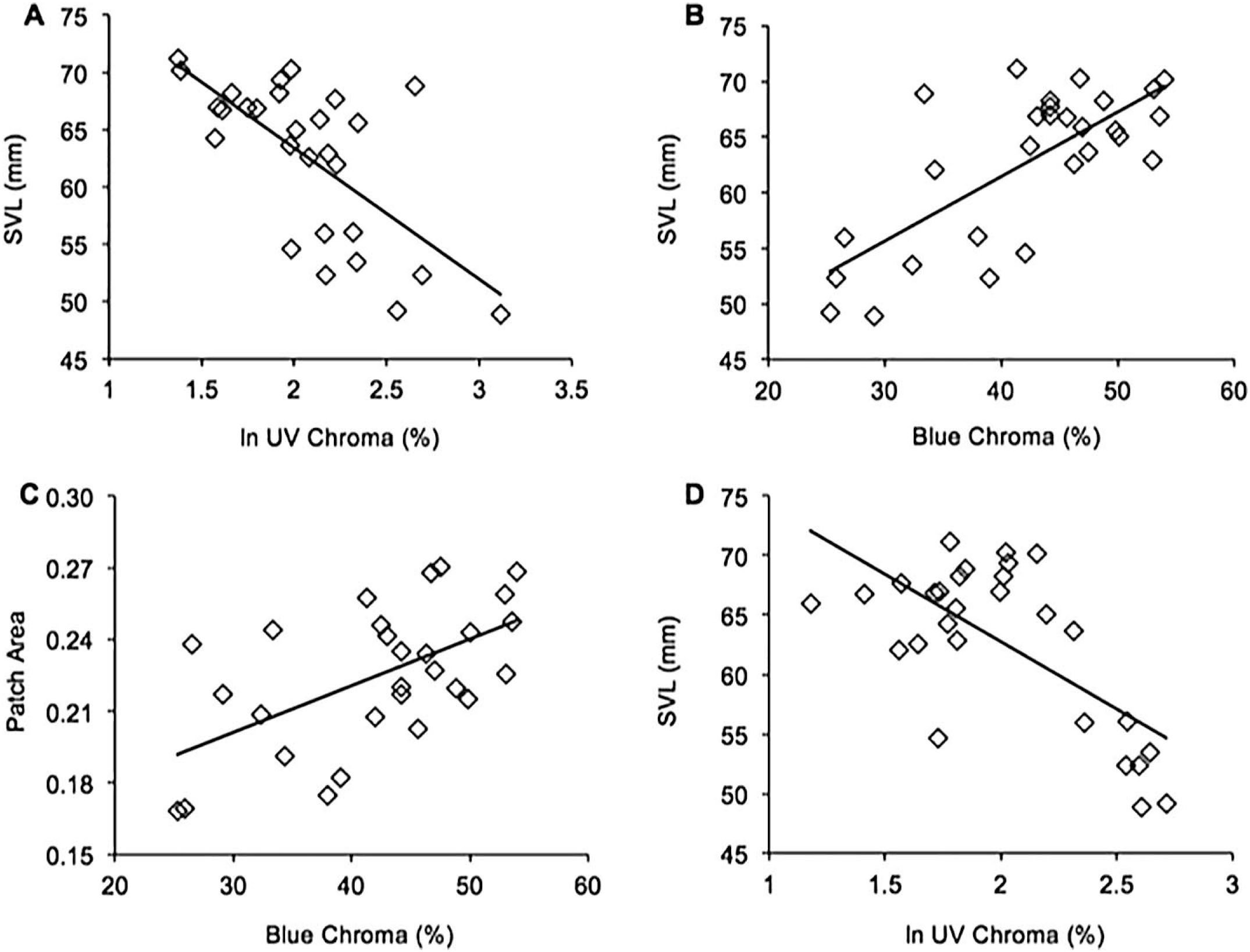 Body Color and Morphological Correlates of Fitness in