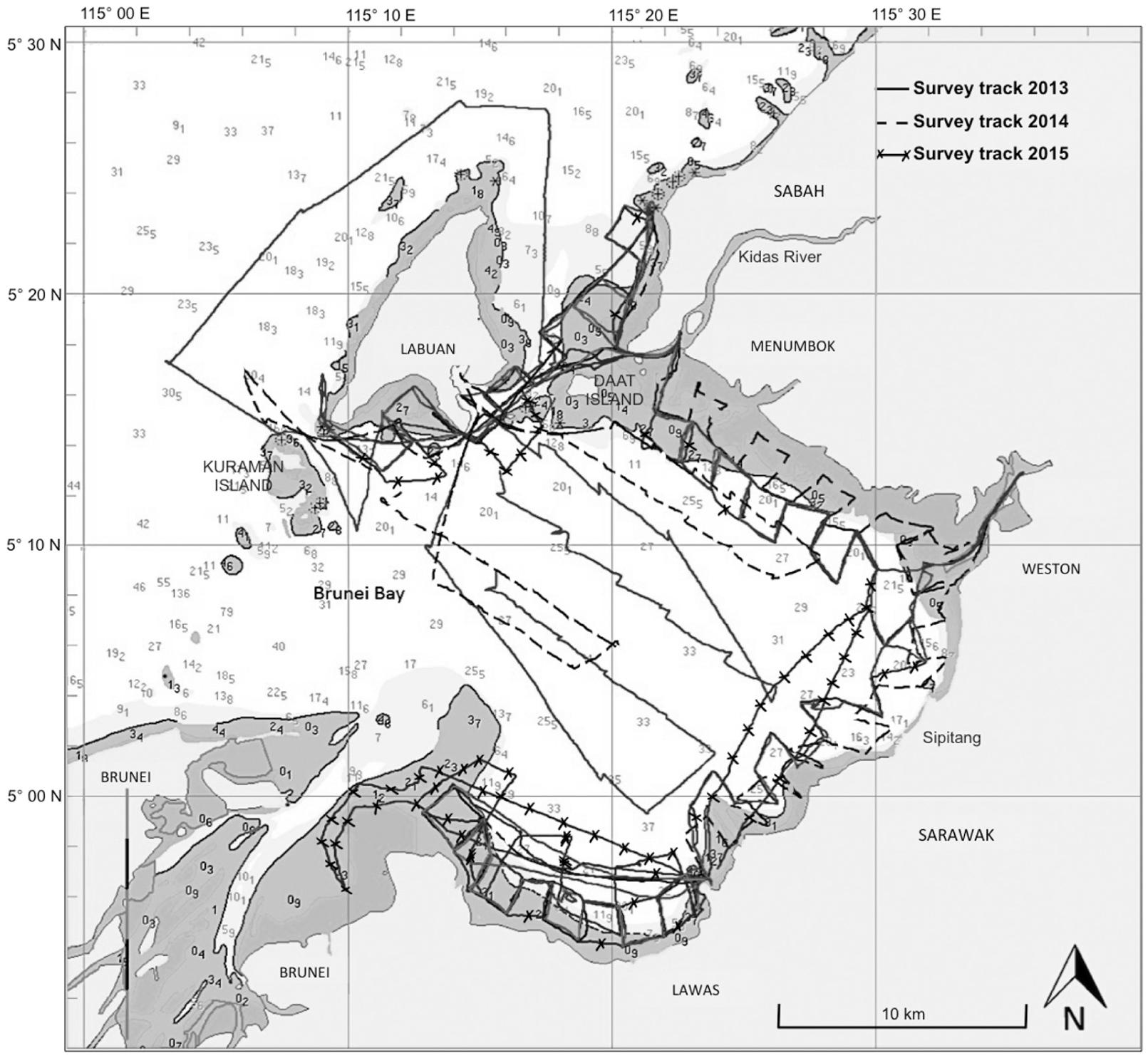 Population estimation, distribution, and habitat