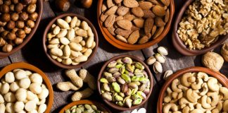 The Most Important Food Ingredients for Various Nuts